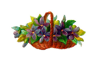 flower basket illustration