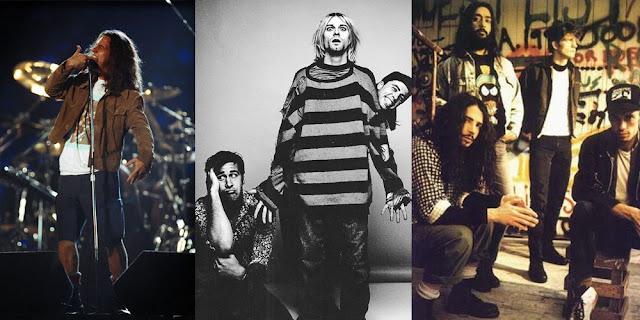 mejores bandas grunge