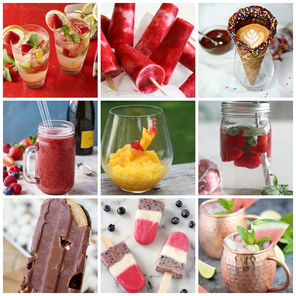 Refreshing Summer Drink And Dessert Recipes Plus Create