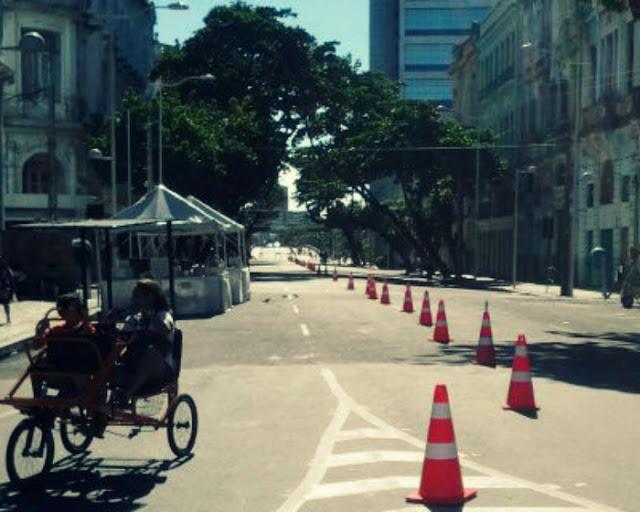 Avenida Rio Branco no Recife