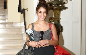 Vanessa Hudgens : London bye-bye ... starlet flew to Italy where it is still displayed more stunning!