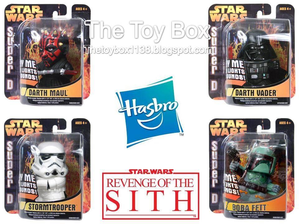 The Toy Box Star Wars Super Deformed Hasbro