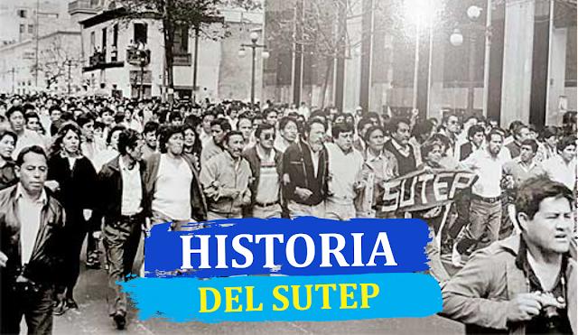 HISTORIA DEL SUTEP