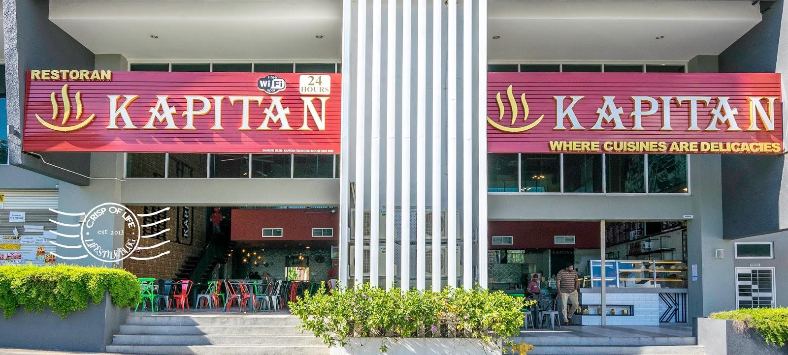 Indian Mamak Cuisine Kapitan Setia Triangle Penang Malaysia