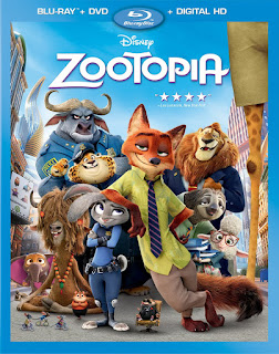 Zootopia 2016 Hindi Dual Audio Bluray Movie 160Mb hevc