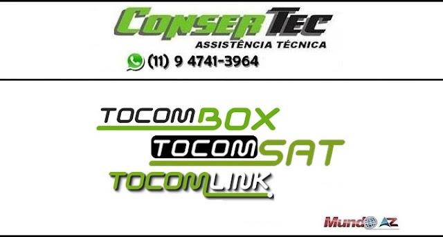 Novas atualizações Tocomsat SKS 58W