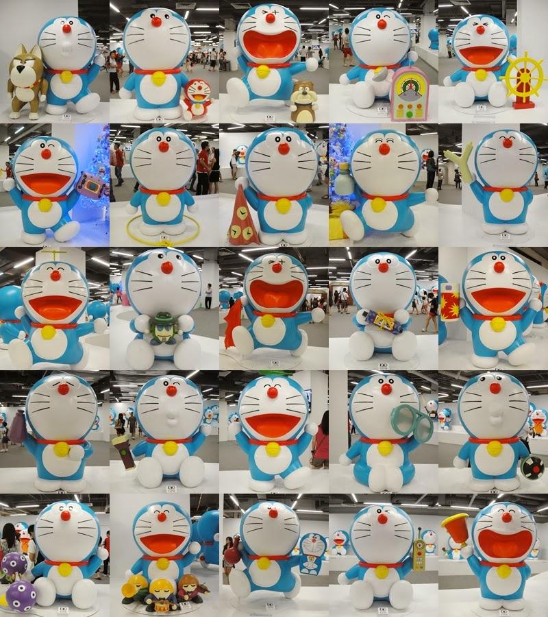 Doraemon Real: ~新月妈咪的无聊部落格~: 100 Doraemon Secret Gadgets Expo @ Viva Home