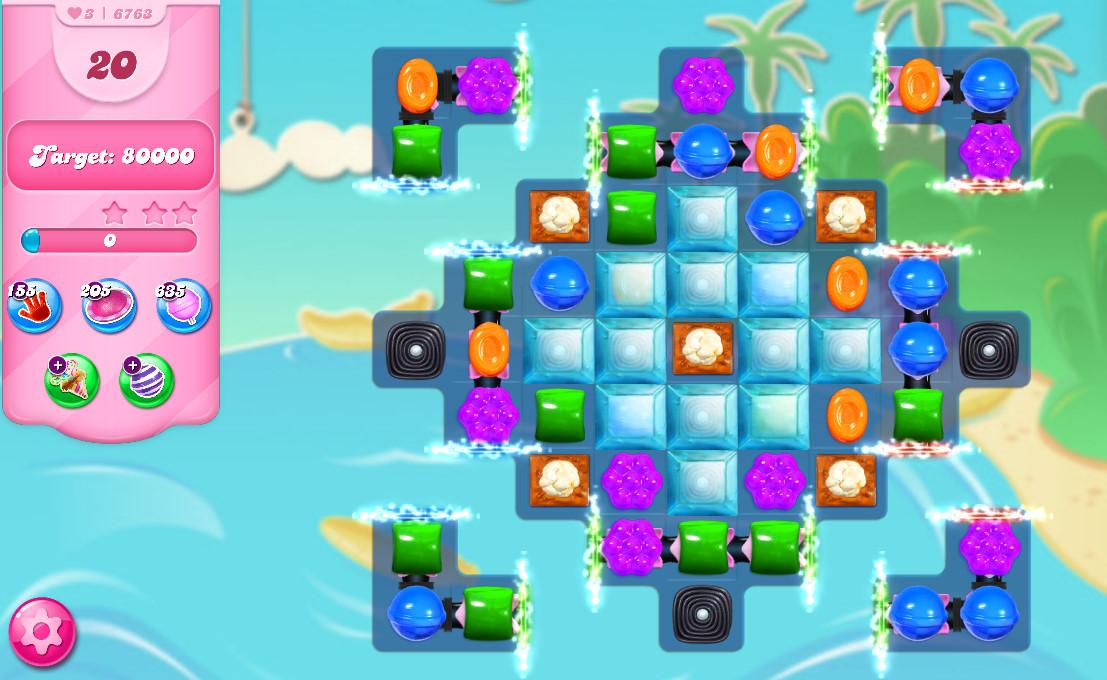 Candy Crush Saga level 6763