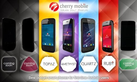 Cherry Mobile Ruby And Quartz Now Available