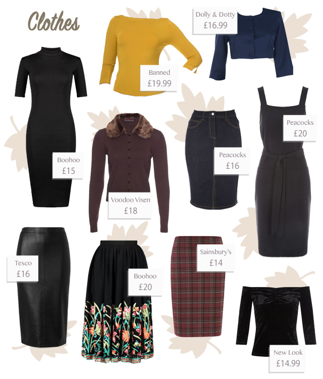 10 bargain clothes pieces for autumn 2016