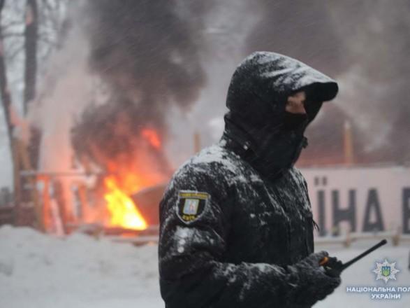Во время столкновений под парламентом пострадали 7 полицейских