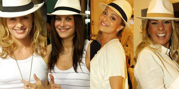 df715611e735f O chapéu panamá é um chapéu que