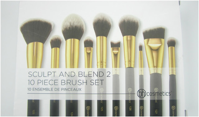 BH Cosmetics Sculpt and Blend 10 Piece Brush Set Version 2