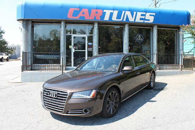 Car Tunes Atlanta: Atlanta Falcons Ovie Mughelli's Audi A8 Customized By
