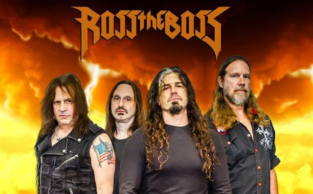 Ross The Boss band official 2018