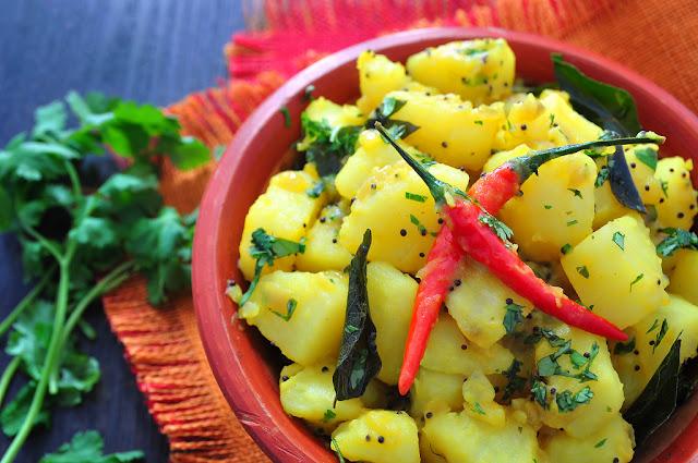 Batata Bhaji, Potato Bhaji