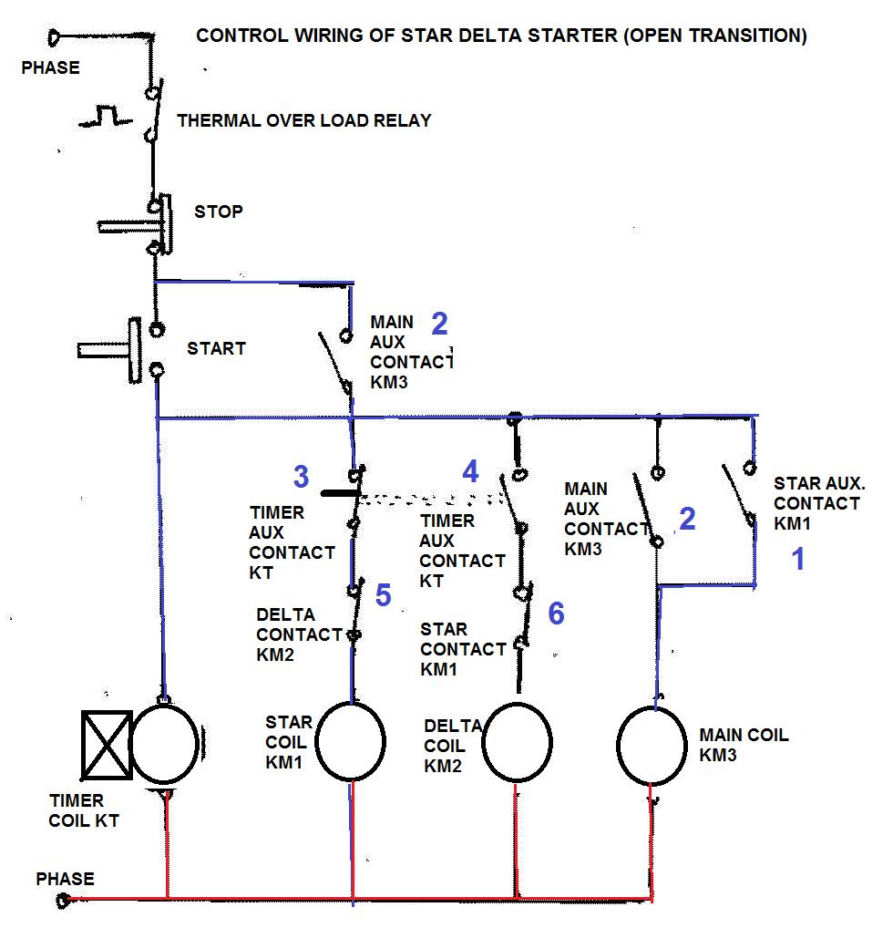 3 phase motor wiring diagram 12 wire get free image wye delta connection diagram wye start [ 980 x 1018 Pixel ]