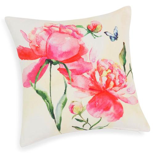 cuscino floreale per casa