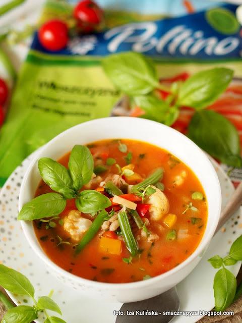 zupa jarzynowa, kolorowe warzywa, mieszanka warzyw, wloszczyzna, poltino, peczak, zupy, zupa dnia