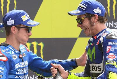 Jika Satu Tim, Rossi - Vinales Tidak Akan Pernah Akur?