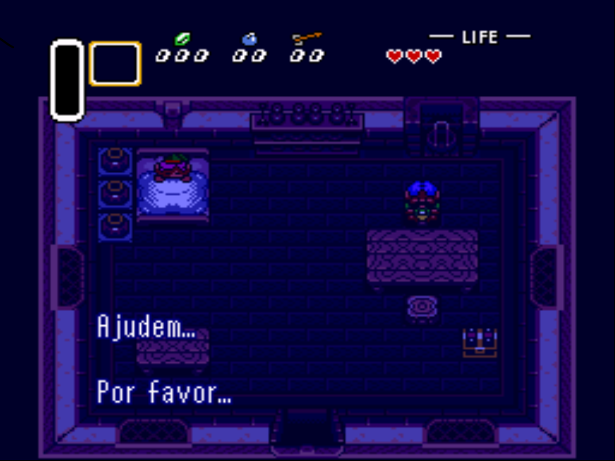 ROMS VX: The Legend of Zelda: A Link to the Past PT-BR (SNES)