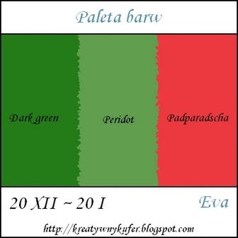 Aktualne Wyzwanie Paleta barw ~ 1 ~