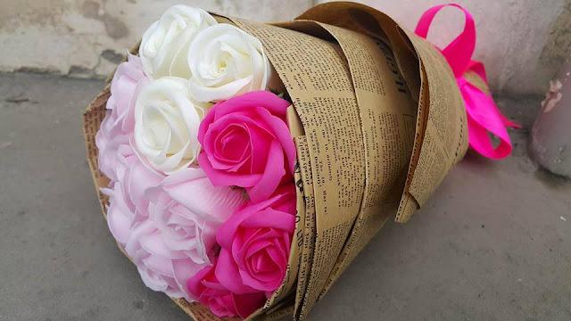 Giay goi hoa o Thanh Oai