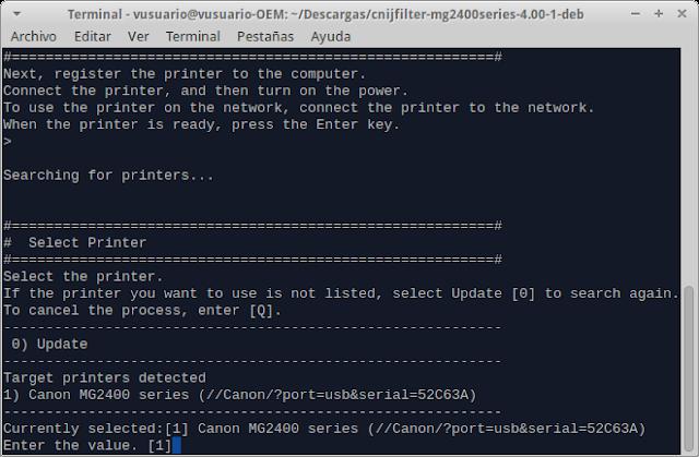 2 How 2 Instalar Canon Pixma Mg2410 En Linux Mint Ubuntu