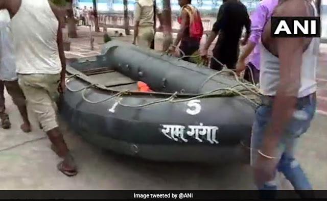 बिजनौर में गंगा में नाव पलटी,14 लोग बचाए गए,13 लोग अभी लापता