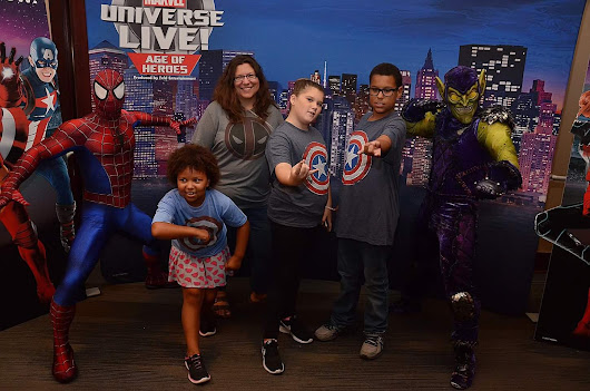 Sneak Peak + Discount Code for Marvel Universe Live CLE