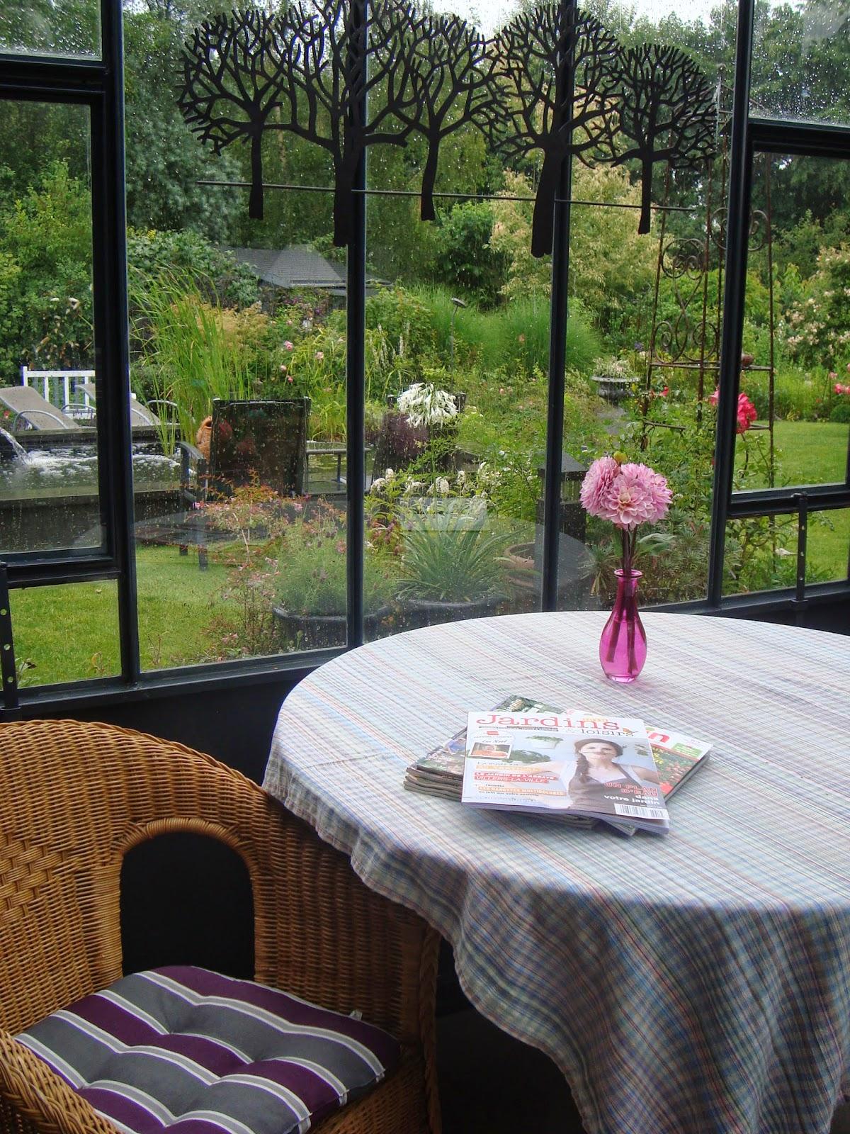 Passionnément Jardin Petit Coup De Peinture Dans Le Jardin