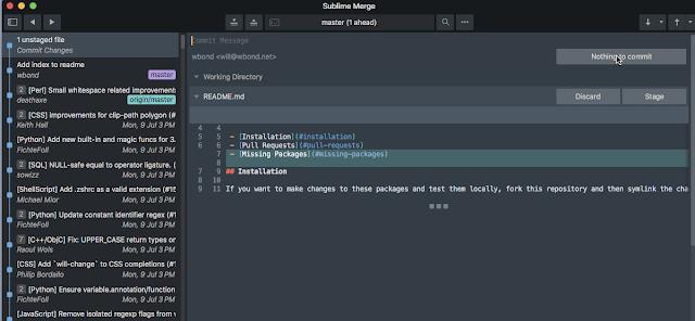 Sublime Merge, le Sublime Text des clients Git, A Unix Mind In A Windows World