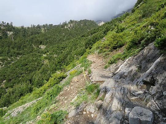 Drózka na drugą stronę doliny.