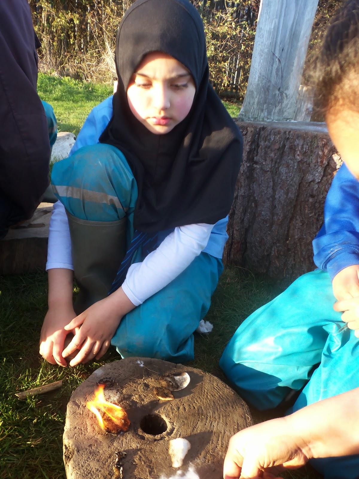 Fagley Primary Forest School Bonfire Celebrations