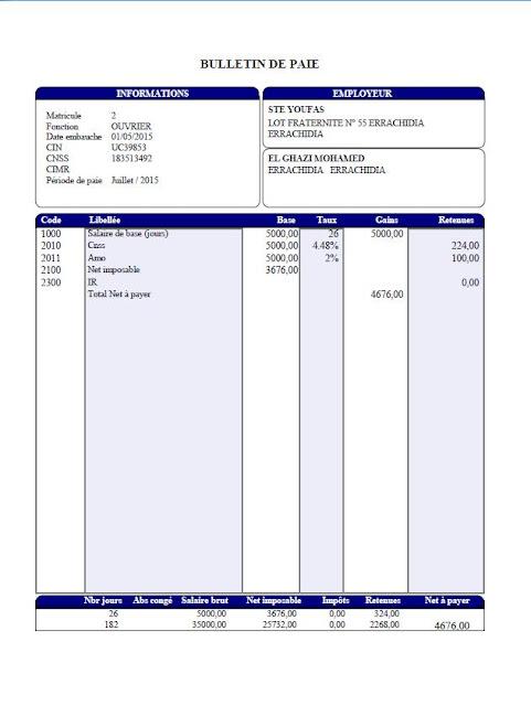 Comment remplir l'Etat 9421, espace-entreprises.com