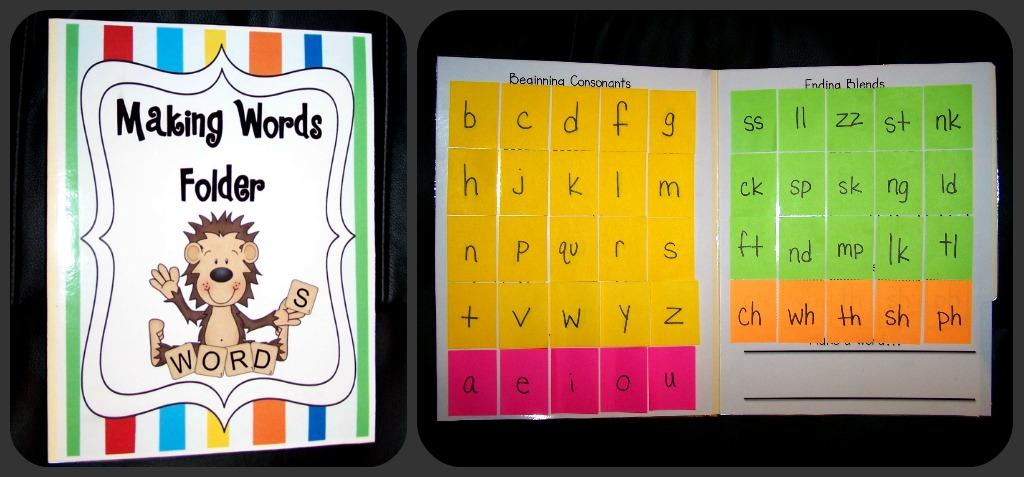 Primary Junction Making Words Folder