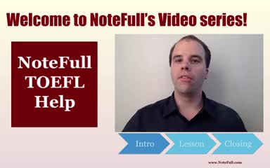 NoteFull's TOEFL FULL Listening Speaking