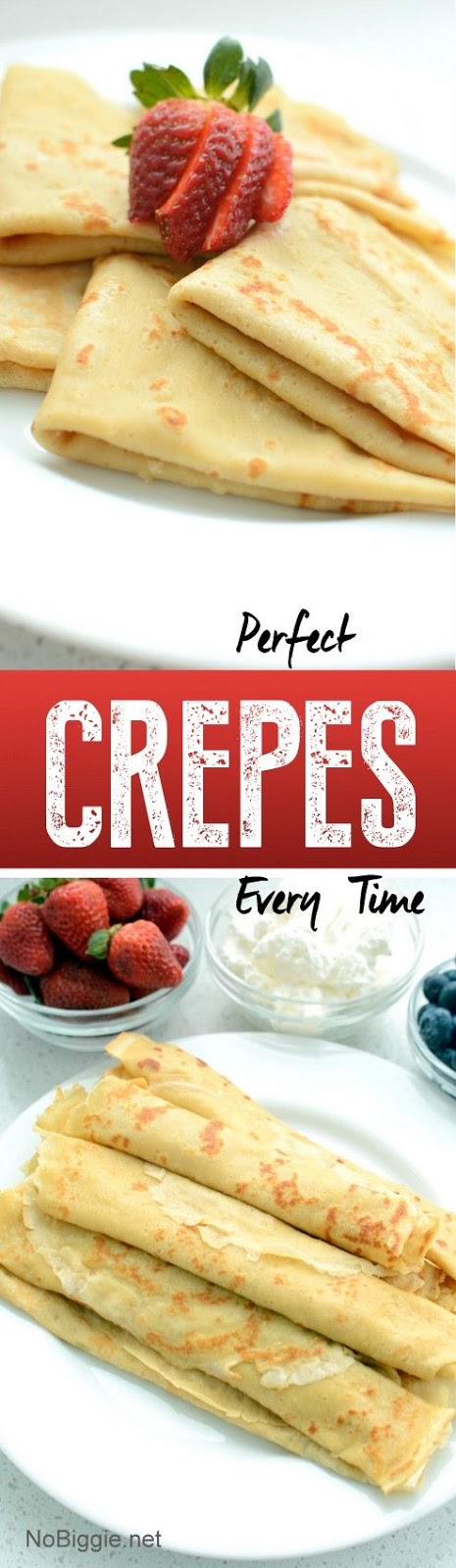 Perfect Crepes every tíme