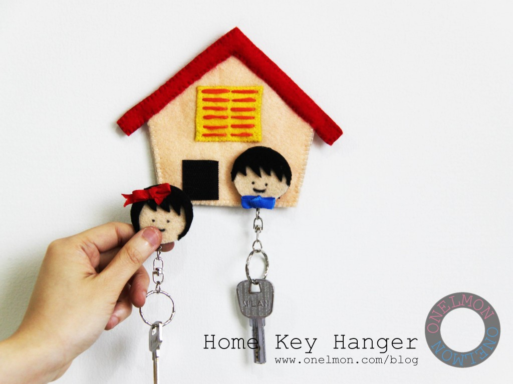 Blog Manualidades Para El Hogar Craft Tutorials Galore At Crafter Holic Cute House Key