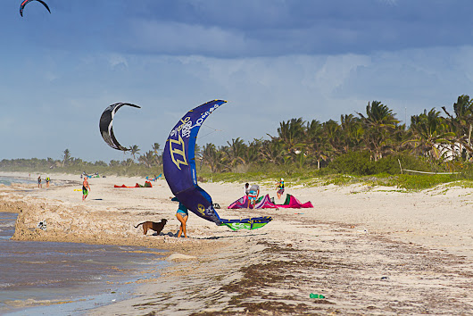 El Cuyo: the potential new kite Mecca in the Yucatan Peninsula.