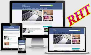 Seo ready responsive blogger template 4