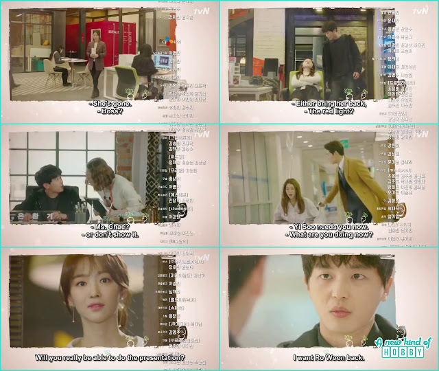 eun hwan gi saw every where ra won and want him back atthe job - My Shy Boss: Episode 10 Preview