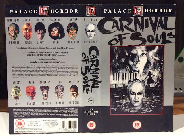 Carnival of Souls Palace VHS Graham Humphreys