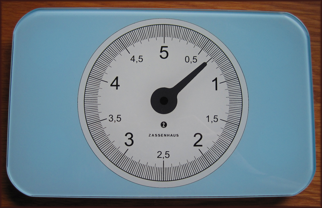 Zassenhaus Retro Digital Kitchen Scales
