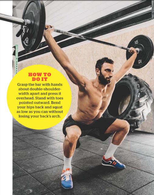 Perform-overhead-squats-lower-body-strength-power