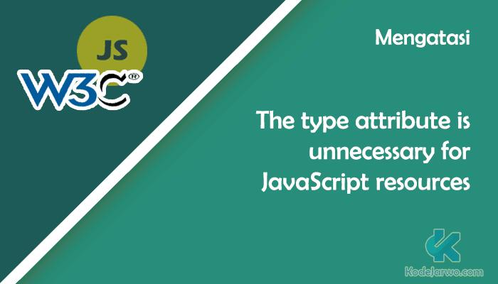 W3C JavaScript Type