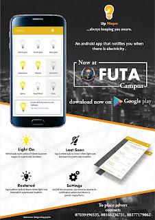 FUTA Students Develops Electricity Notification App (UpNepa Nigeria)