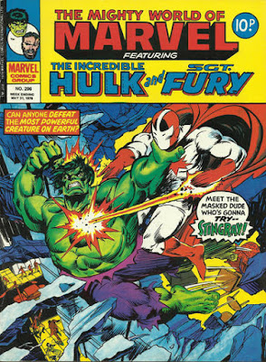 Mighty World of Marvel #296, Hulk vs Stingray