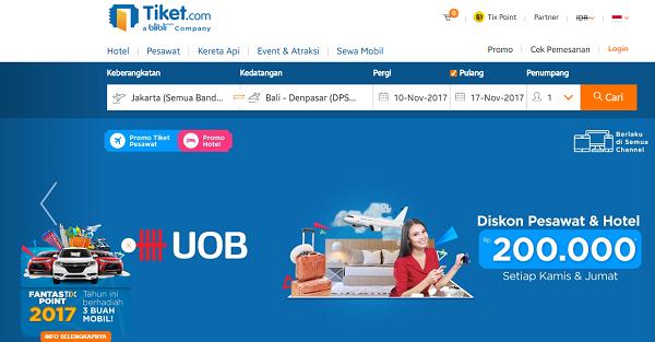 Situs Booking Hotel Terpercaya di tiket com
