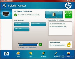 hp solution center program